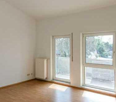 2-Raum-Wohnung mit Balkon oberhalb der Meißner Straße