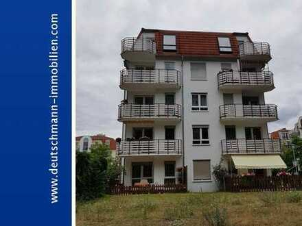 DEUTSCHMANN IMMOBILIEN ***** ivd - Vermietete 2-Zimmer-Eigentumswohnung in Velten mit Waldblick!