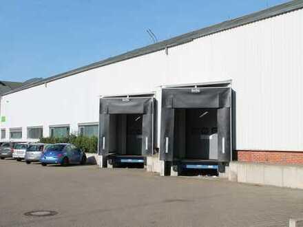 Neukirch Immobilien: Lager-/Produktionshalle, 2 Ladebrücken & ebenerdige Hallenzufahrt!