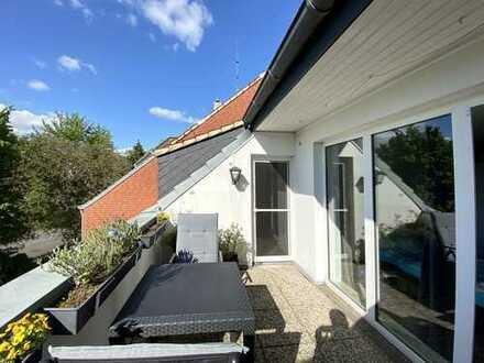 Gemütliche 3-Zimmer-Dachgeschoss-Wohnung mit 2 Balkonen