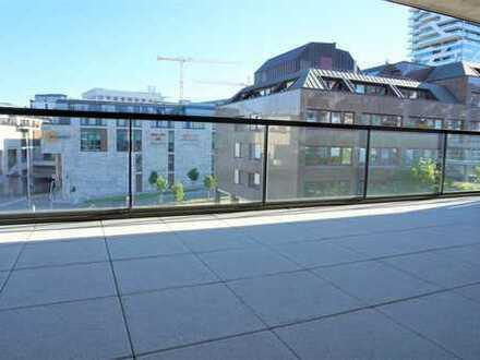 3 Zi.- Luxuswohnung, 2 Bäder, 1 Terrasse, 1 TG-Stellplatz, einmalig!