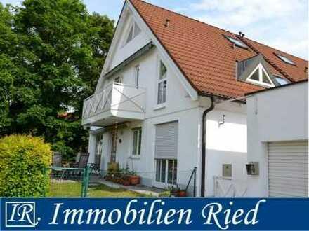 Helle, gut geschnittene 3-Zimmer-Maisonette-Wohnung mit Balkon in ruhiger Lage in Gröbenzell