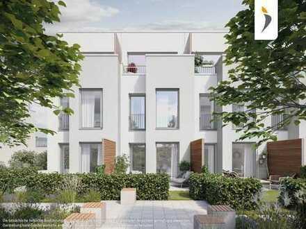 Mit eigenem Garten in der Stadt: Urbanes Reihenhaus mit 3 Zimmern in Weißensee
