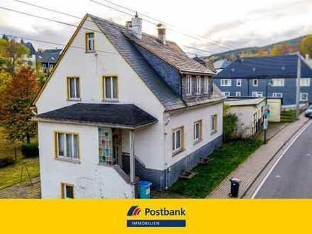 Großes Grundstück und Garage mit Werkstatt - Ihr neues Eigenheim!