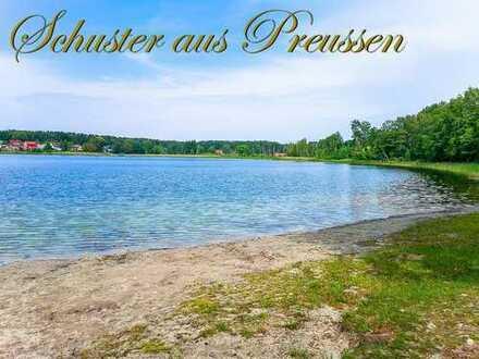 Schuster aus Preussen - Ferienhaus in der Schorfheide auf ca. 1.400 m² Grund in der idyllischen S...