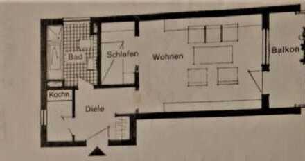 Schöne 1,5 Zimmer Wohnung in Rems-Murr-Kreis, Waiblingen