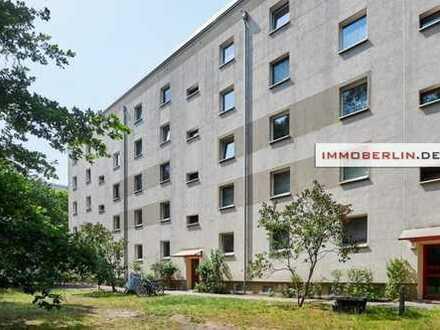 IMMOBERLIN: Gepflegte lichtdurchflutete Wohnung mit ruhiger Südwestloggia