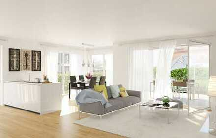 Schöne Erdgeschoss-Wohnung mit Garten