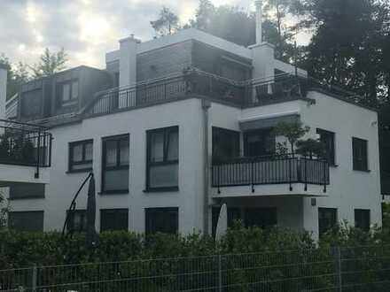 Attraktive 3-Zimmer-Wohnung in exponierter Waldrandlage