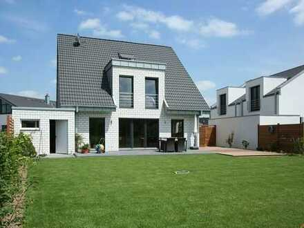 Bauvorhaben EFH mit reichlich Sonne und freier Planung. Natürlich massiv bauen mit Elbe-Haus