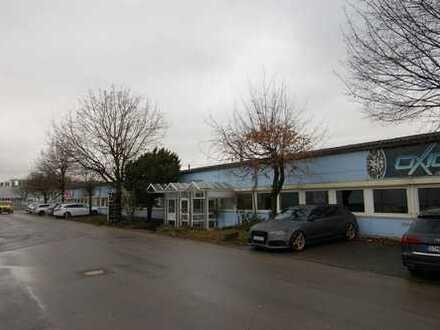 Halle 2.173 m²/Büro 365 m²/14 Parkplätze