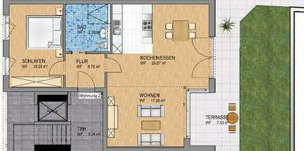 Stilvolle 2-Zi-Neubauwohnung in Zentrumsnähe