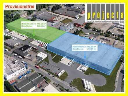 10.740 m²*36 Rampentore/2 eben. Tore*WGK 2-fähig*jetzt sichern*Provisionsfrei*0173-2749176