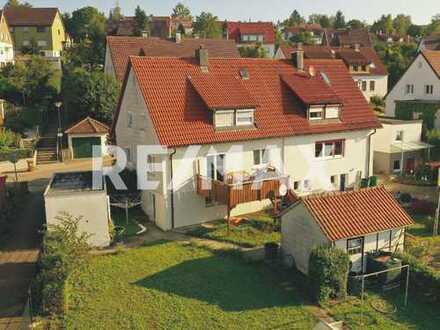 Toplage mit viel Garten – HDH Heckental – traumhafte Aussicht – 18m² Balkon