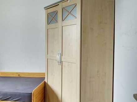 Geschmackvolle vollmöbiliert Zimmer in 3 Ziimmer-WG mit Balkon und EBK in Jülich