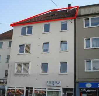 1-Zimmer-Appartement im Dachgeschoss gegenüber vom Kesselbrink! (Friedrich-Verleger-Str.)