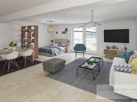 Vermietetes 1-Raum Apartment mit Balkon in Essen-Dellwig/Grenze Oberhausen
