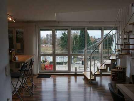 Aussergewöhnliche, gepflegte, lichtdurchflutete 5-Zimmer MaisonetteWohnung, SO-Lage, zentrumsnah BOT