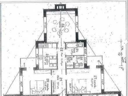 Erstbezug nach Sanierung mit Balkon: attraktive 3-Zimmer-Penthouse-Wohnung in Erftstadt Liblar