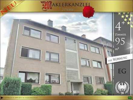 +++ NEU +++ große 95 m² Erdgeschosswohnung (4 Zimmer) im Zentrum von Datteln +++