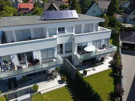 Luxuriöse Penthouse-Wohnung mit Dachterrasse -KfW Effizienzhaus 55- 1A-Lage in Dortmund-Lücklemberg.