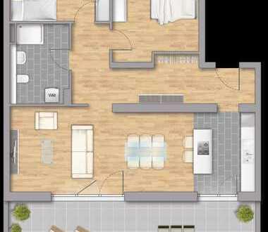 3 Zimmer Penthauswohnung Wohntraum, Beratung an der Baustelle nach Terminabsprache