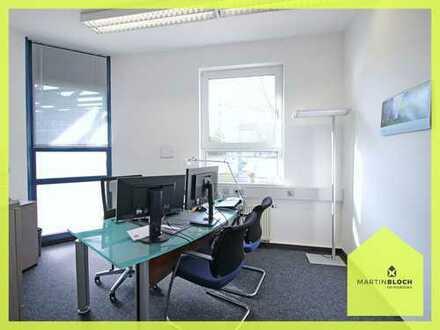 Modernes Bürozimmer in Göggingen - Hochwertig eingerichtet