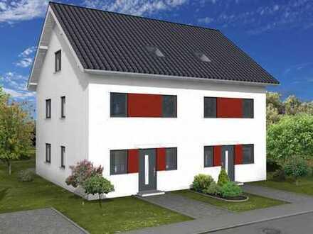 Elegante Doppelhaushälfte 2 - Neubauprojekt - in Heppenheim mit Keller