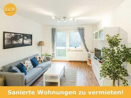 Sanierte 2-Raum-Wohnung im Erdgeschoss