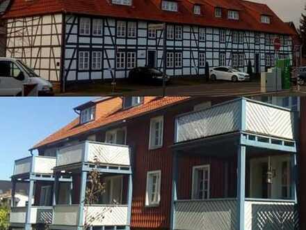 Bockenem: urige und gemütliche 109 qm 4-Zimmer Wohnung mit großem Sonnen-Balkon