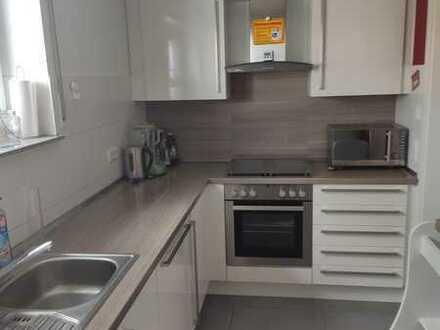 Gepflegte Wohnung mit dreieinhalb Zimmern sowie Balkon und Einbauküche in Laupheim