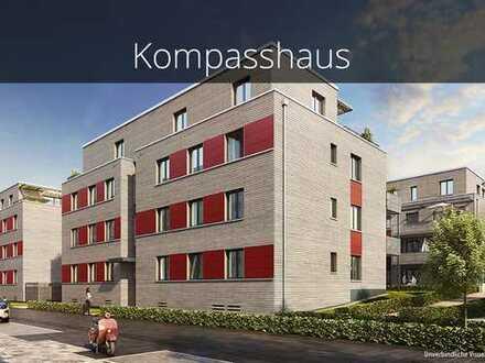 3-Zimmer-Wohnung mit Ankleide, Tageslichtbad en Suite und herrlicher Terrasse in bester Lage!