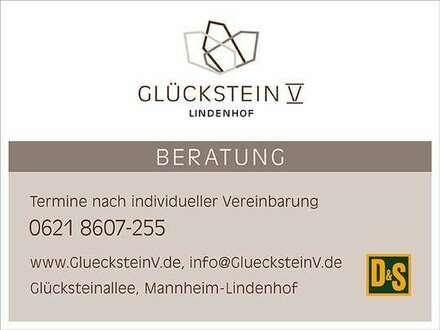 Wohnen in der Glücksteinallee - Lichtdurchflutete 4-Zi.-ETW mit Garten in Mannheim-Lindenhof
