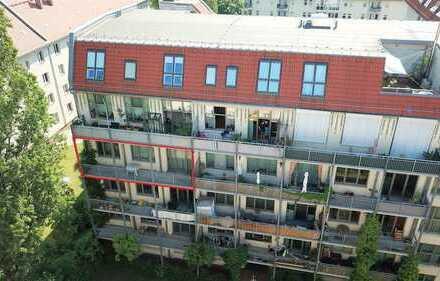 Bezugsfrei! Großes Loft mit großem Balkon im ehemaligen Fabrikgebäude in Lichtenberg.