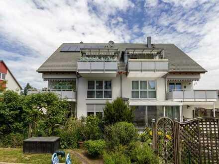 Charmante 4-Zimmer-Maisonette-Wohnung mit ca. 103 m² in ruhiger und zentraler Lage in Fürth