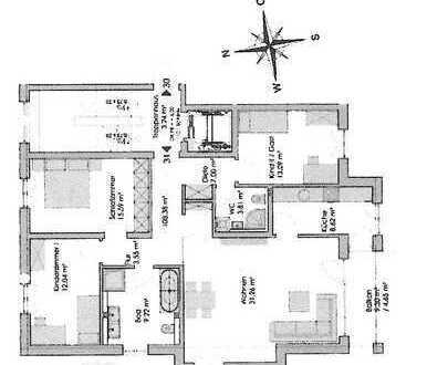 Attraktive 4-Zimmer-Wohnung mit Balkon in Dresden