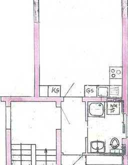 Schöne Zwei-Zimmer-Wohnung