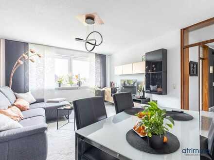 Einziehen und wohlfühlen! Junge & moderne 3-Zimmer-Wohnung mit Balkon. In Dortmund.