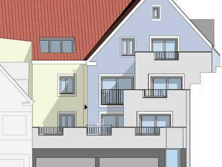 Erstbezug: stilvolle 2-Zimmer-DG-Wohnung mit Balkon in Donauwörth