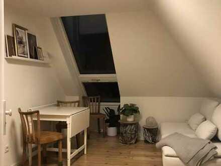 2-Zimmer-Dachgeschosswohnung mit Dachaustrittfenster in Pforzheim/Wartberg