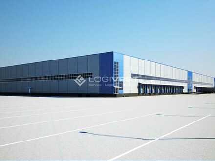 Provisionsfrei ! Projektierter Neubau einer hochmodernen Lagerhalle in Bamberg