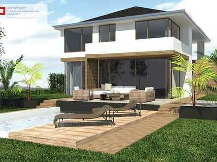 Wir bauen individuell nach Ihren Vorstellungen, ca. kaufpreis hochwertiges Haus mit gr.Baugrundstück