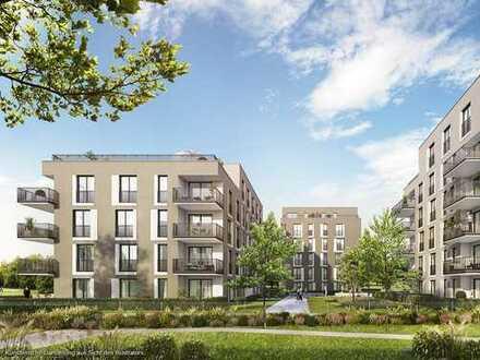 Sonnige 3-Zi.-Balkonwohnung in Südausrichtung mit 2 Bädern und ca. 30 m² großem Wohn-Ess-Kochbereich