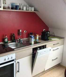 2 ZKB-DG-Mietwohnung mit Einbauküche in Bad Wörishofen Gartenstadt - ohne Balkon