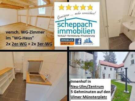 """1 Zimmer in 3er-WG in Neu-Ulm/""""Zentrum"""", Erstbezug!"""