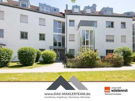 Attraktiv geschnittene Gartenwohnung in Untermeitingen