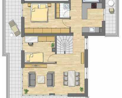 4 Zimmer Maisonettewohnung mit 127 m²