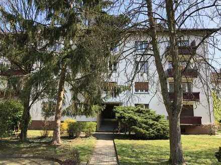 Zentral gelegene, schöne, helle 2-Zimmer-Wohnung mit 2 Balkonen und EBK in Karlsruhe