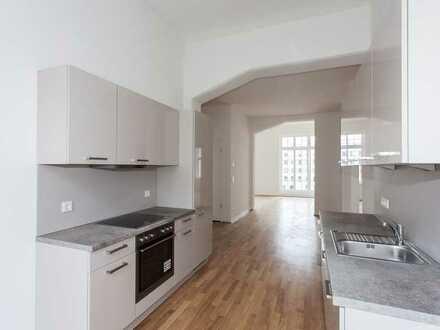 Ab September: Hoflage | Balkon | Einbauküche | 2 Bäder | Parkett | Klimaanlage