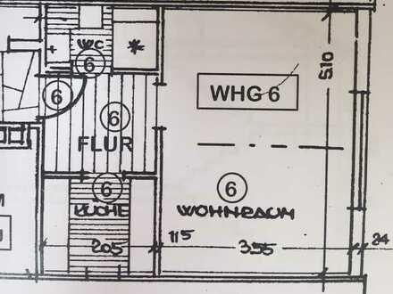 gemütliche 1,5 Zimmer Wohnung in ruhiger Lage, von PRIVAT